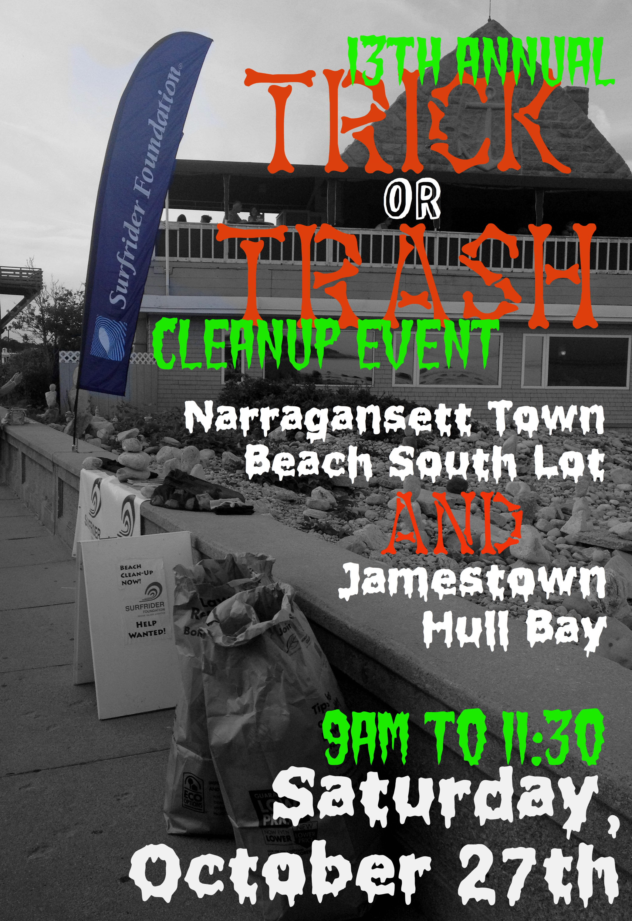 13th Annual Trick or Trash Clean-Up